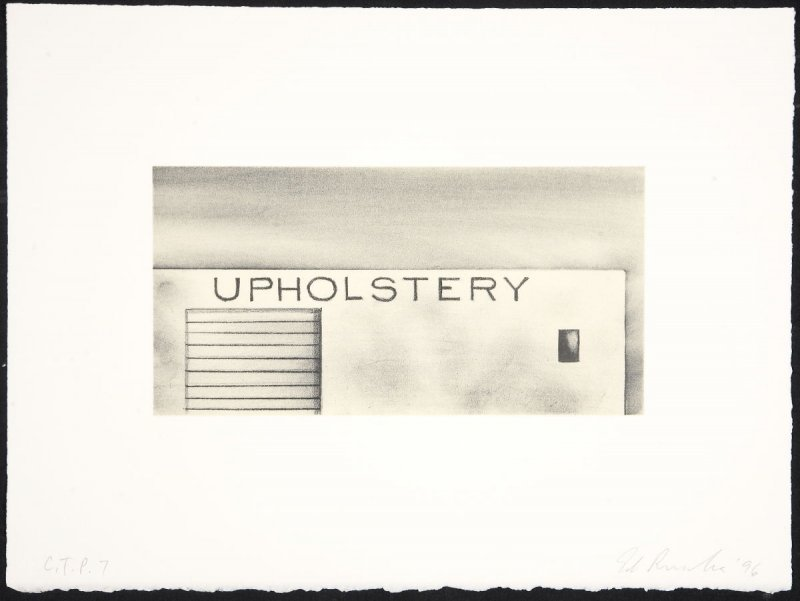 Color Trial Proof #7 for Upholstery from the Archi-Props series