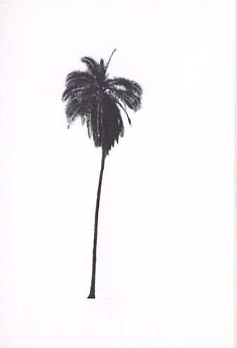"Illustration 8, recto to ""5941 Hollywood Blvd.,"" in the book A Few Palm Trees (Hollywood: Heavy Industry Publications, 1971)"