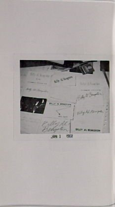 Untitled, illustration 11, in the book Business Cards by Edward Ruscha in collaboration with Billy Al Bengston (Hollywood: Heavy Industry Publications, 1968)