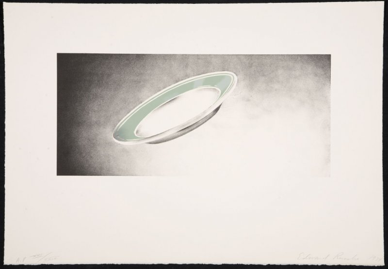 Plate, from the Domestic Tranquility series