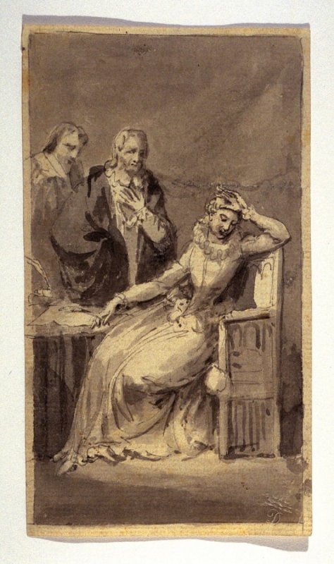 Imaginary Scene from Mysteries of Udolpho