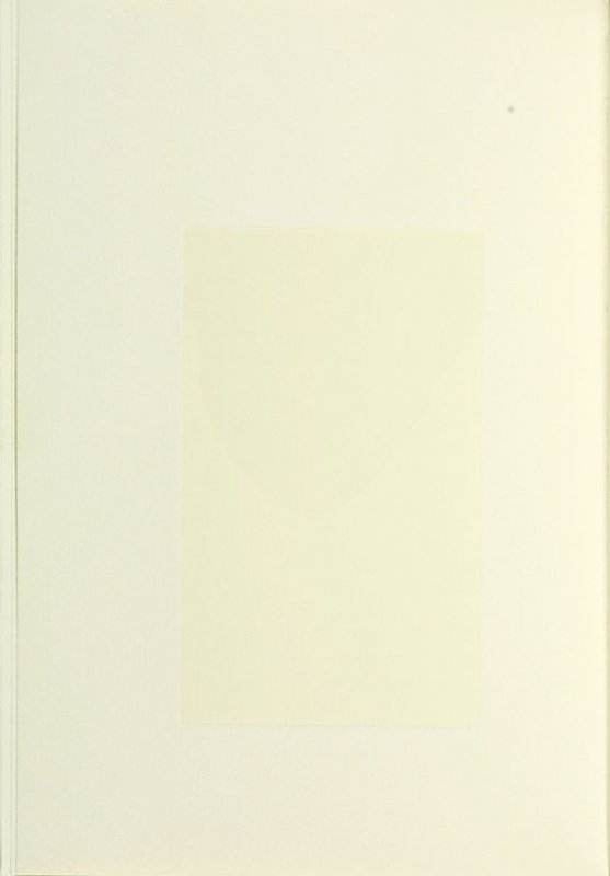 Untitled, between pgs. 72 and 73, in the book Nohow On by Samuel Beckett (New York: The Limited Editions Club, 1989)