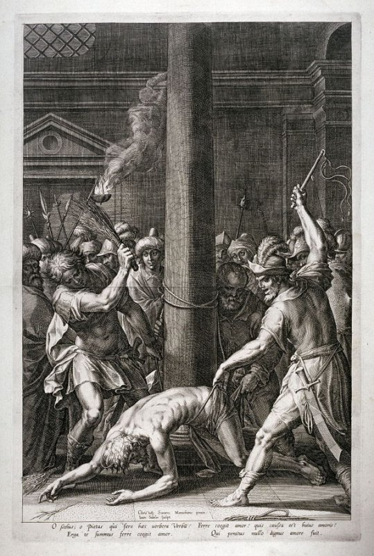The Flagellation, from a series of The Passion