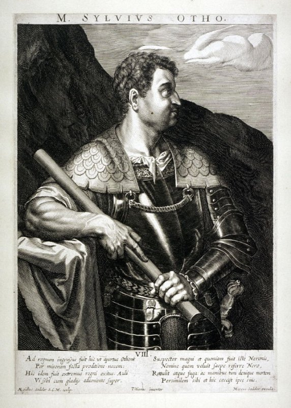 Otho, from set of Roman Emperors and Empresses