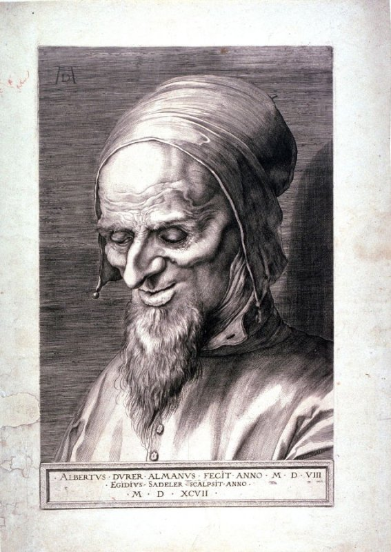 Head of a Hooded Old Man (Apostle)
