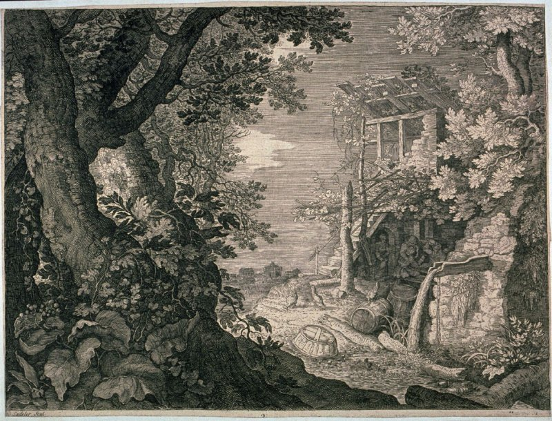 Landscape with an Inn