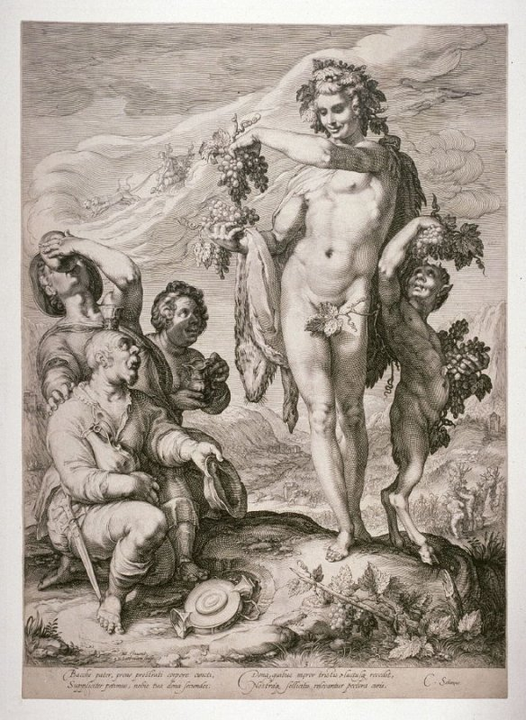 Bacchus Honored by Drinkers, from the series Adoration of Ceres, Venus and Bacchus