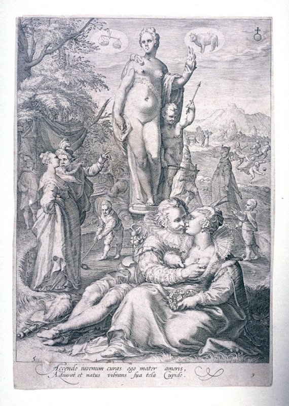 Venus Presiding over Love, from the series Seven Planetary Gods