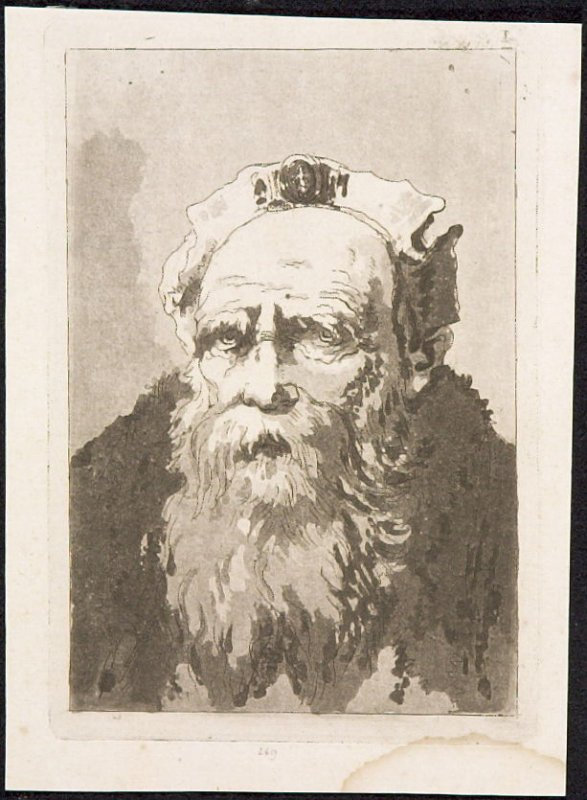 Untitled Portrait From the series Six Heads of Old Men