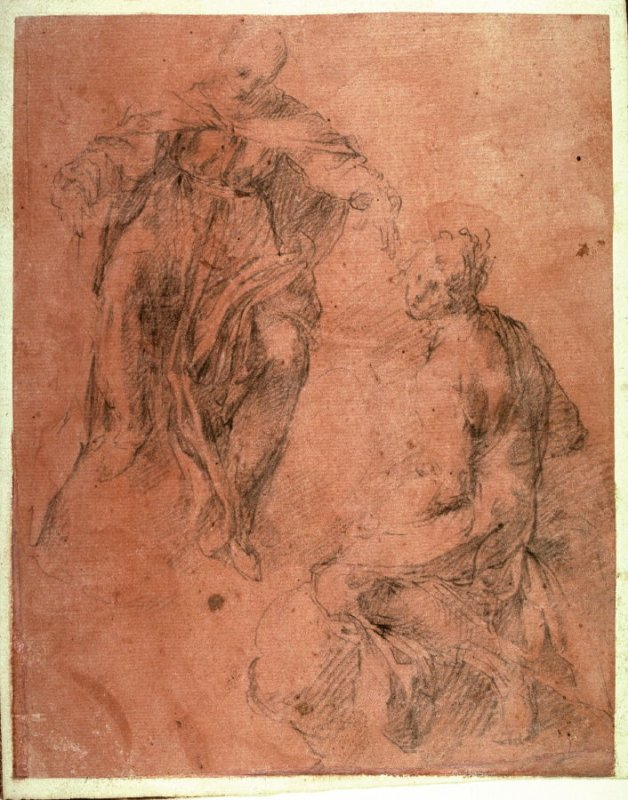Figure Studies of a Man and a Woman