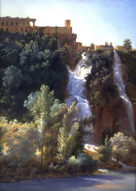 View of the Falls at Tivoli