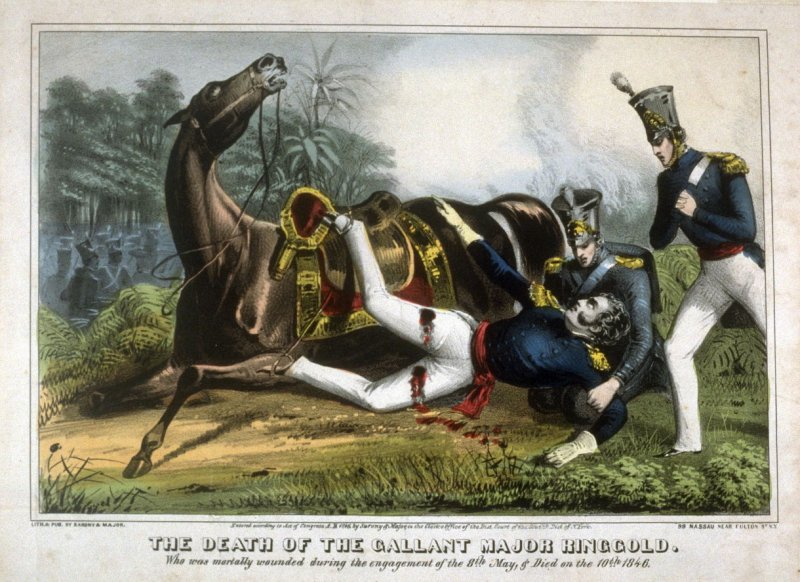 The Death of the Gallant Major Ringgold