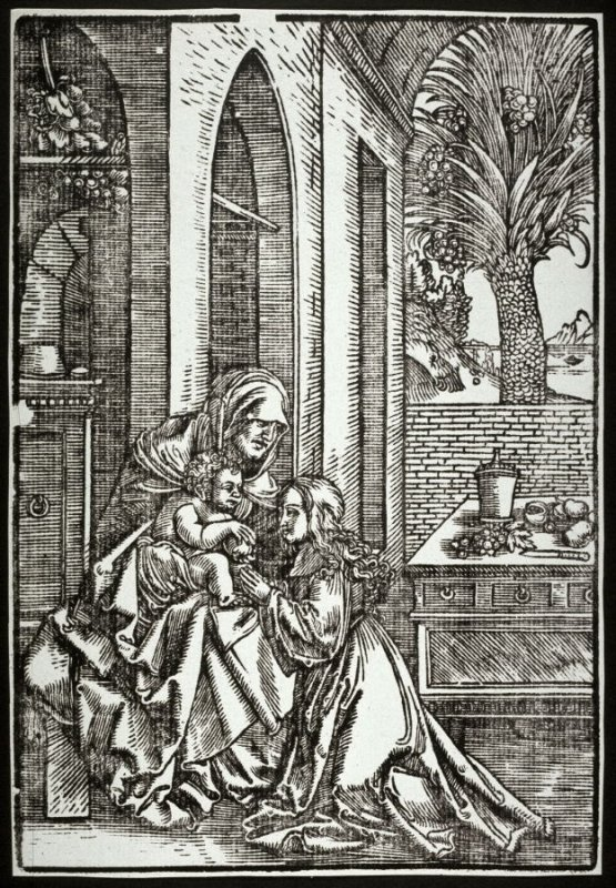 The Virgin with St. Anne and the Infant Christ