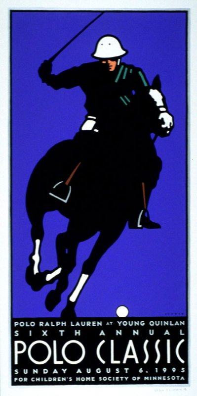 Sixth Annual Polo Classic Cup, poster for Polo Retail Corporation, Denver