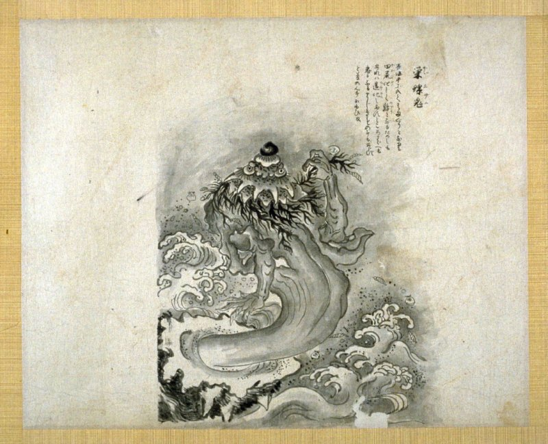 Ninth sheet from album with images of Ghosts