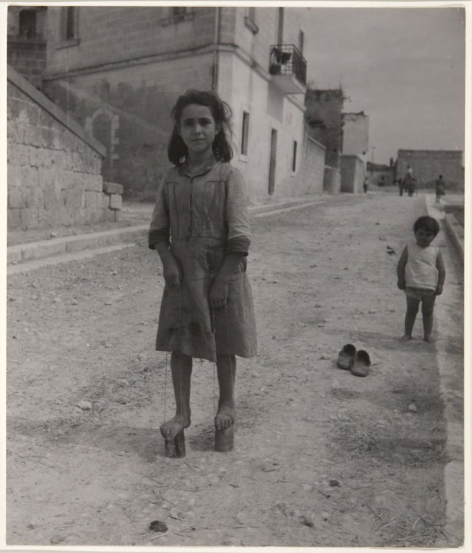 Children at play, Luciana, Italy