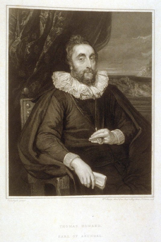 Thomas Howard, Earl of Arundel, twentieth plate in the book, [Buchanan's Gallery], an untitled collection of engravings primarily from Select Work of Engravings (London: Historic Gallery, 1813-14)]