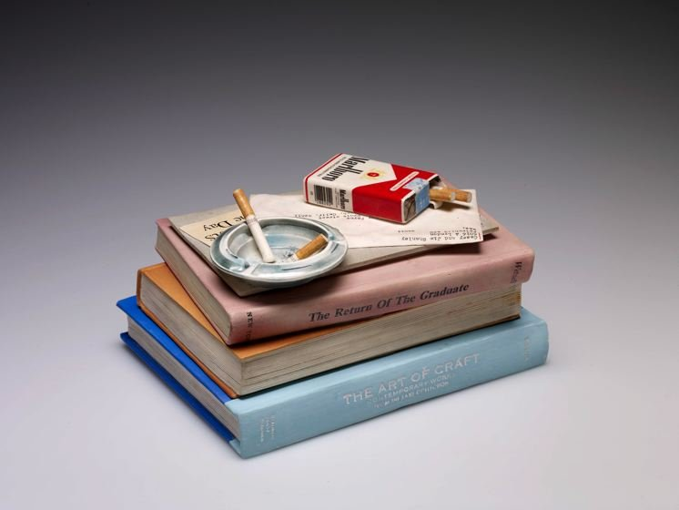 Book Jar with Ashtray