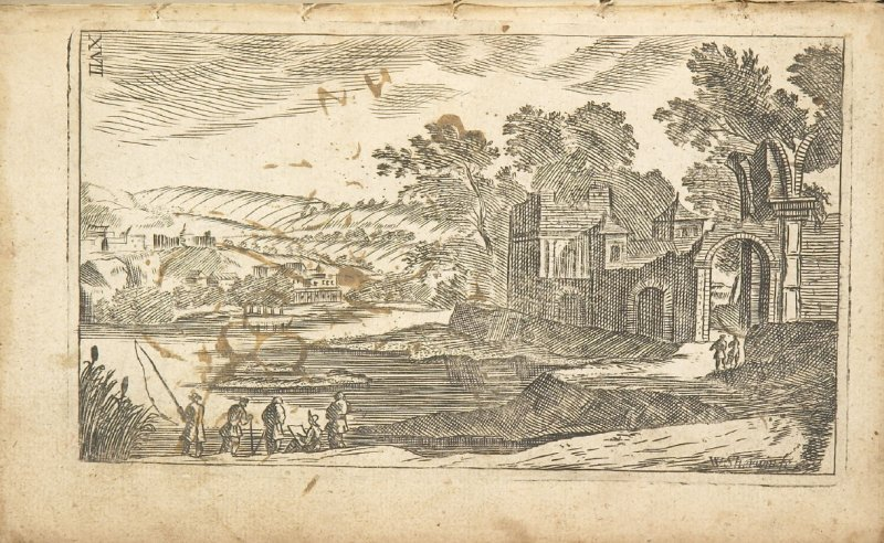 Illustration 9 in the book Polygraphice: The Arts of Drawing, Limning,Painting &c. by William Salmon (London: Thomas Passinger and Thomas Sawbridge, 1685)