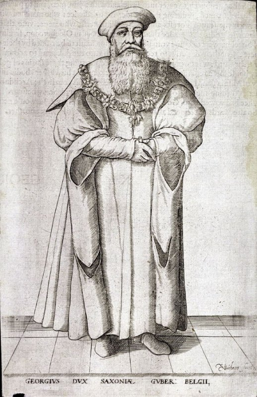 Portrait of Duke George of Saxony