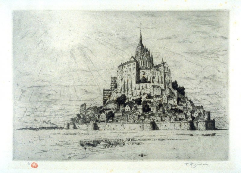 Le Mont St. Michel - Brittany, France