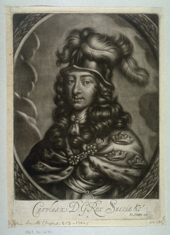 Portrait of Charles XI, King of Sweden