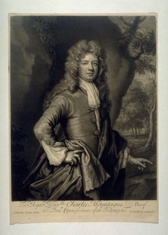 Portrait of Charles Mountagu, 1st Earl of Halifax