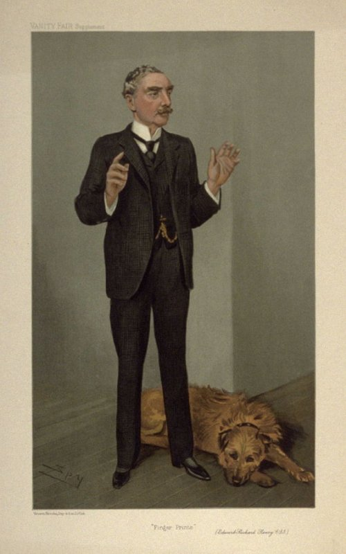 """Finger Prints"" (Edward Richard Henry C.S.J.), from Vanity Fair Supplement"