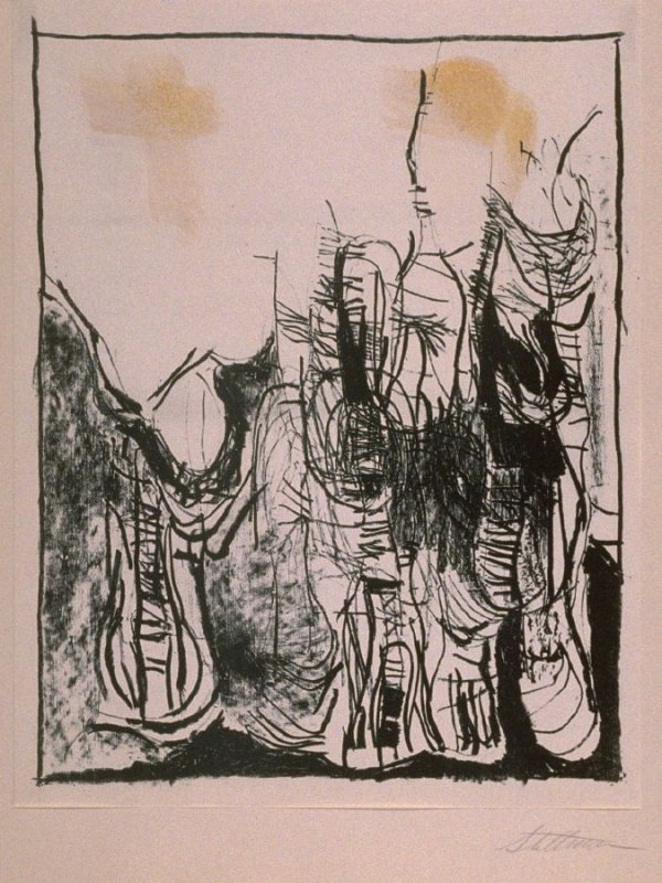 """Untitled (ninth print in """"Drawings"""")"""