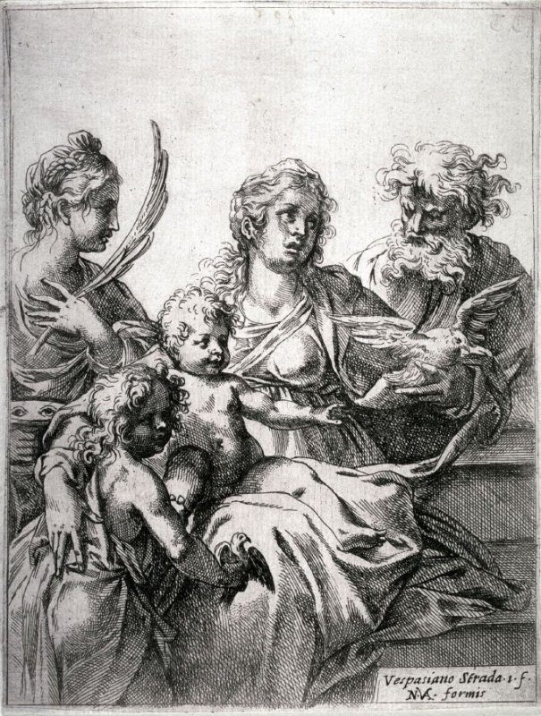 The Virgin with Saints John the Baptist and Lucy