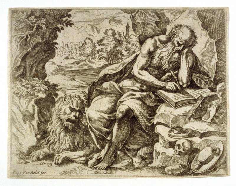 St. Jerome in the Wilderness Translating the Bible