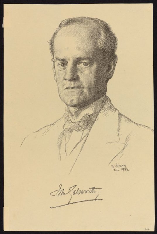 Portrait of John Galsworthy
