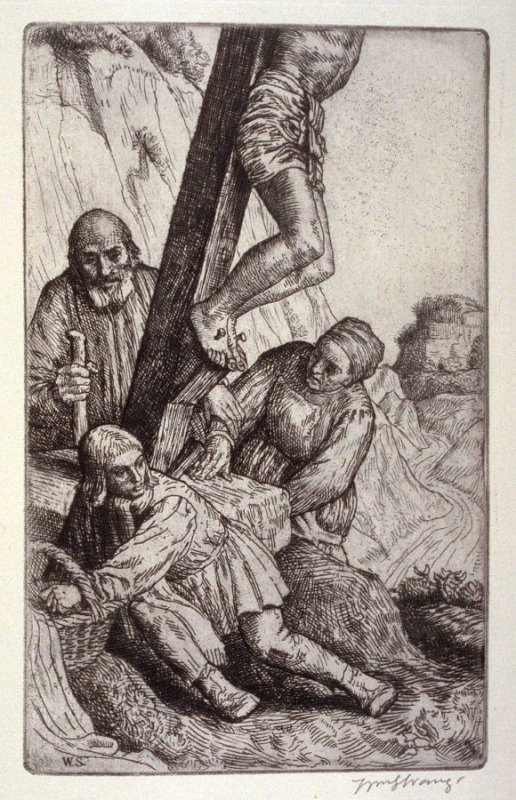 untitled, plate at p. 9 in the book, The Christ upon the Hill (London: Smith, Elder, 1895)