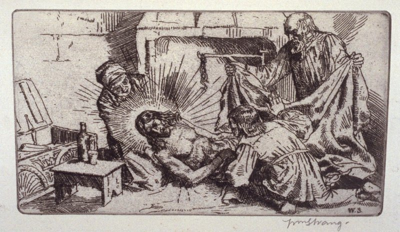 untitled, plate at p. 17 in the book, The Christ upon the Hill (London: Smith, Elder, 1895)
