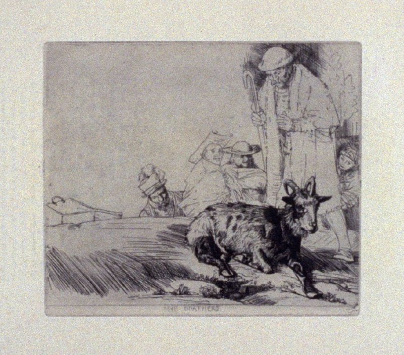 The Goatherd, plate 17 in the book, A Series…illustrating Subjects from 'Don Quixote' (London: Macmillan and Co., 1902)