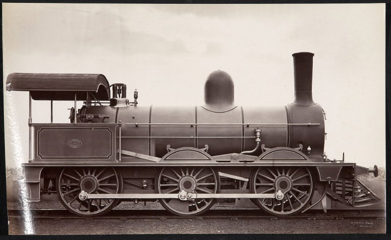 Neilson and Co., Glasgow Railroad Locomotive
