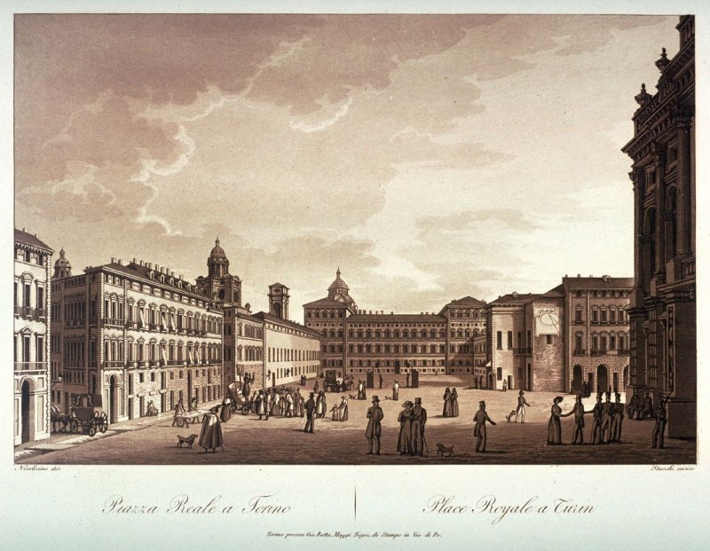 Piazza Reale a Torino