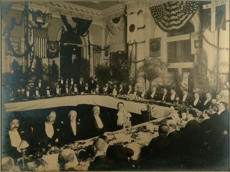 Banquet of Director General M.H. de Young, Palace Hotel