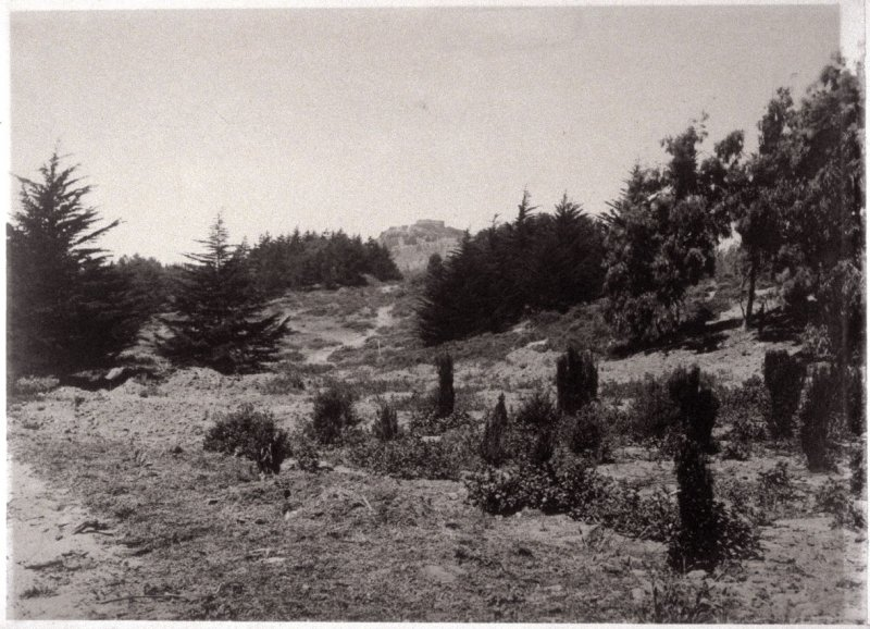 The Site before Breaking Ground