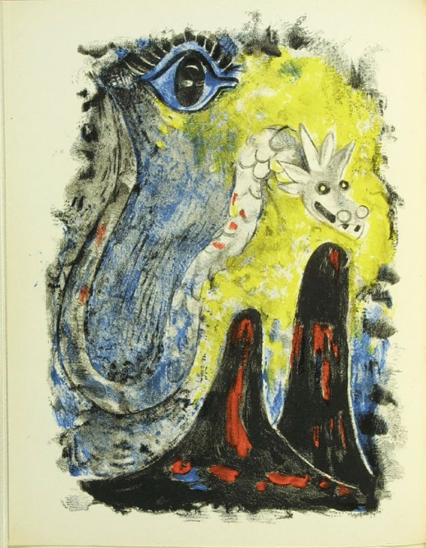 Untitled, frontispiece in the book Air Mexicain by Benjamin Péret (Paris: Editions Des Minuit, 1952).