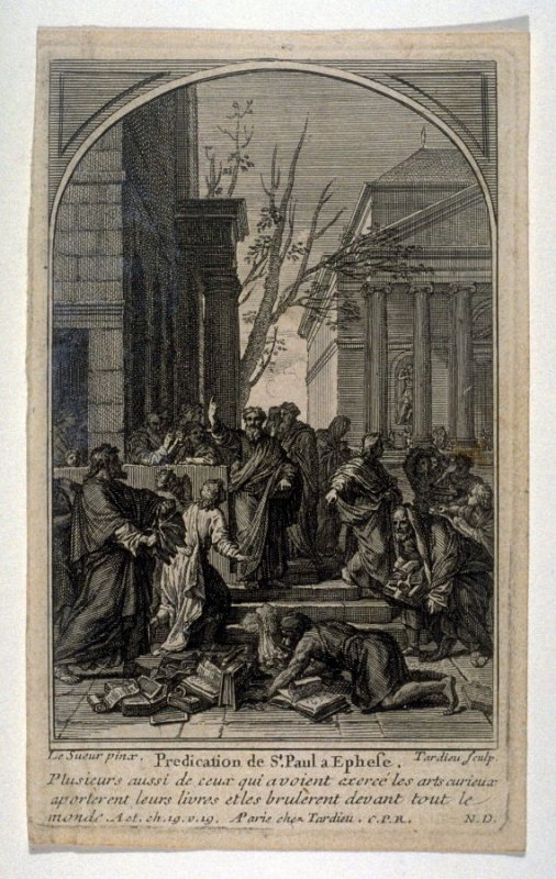 St. Paul Preaching to the Ephesians