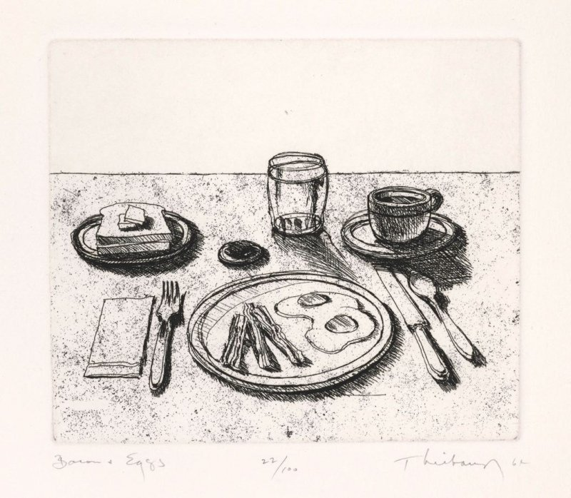 Bacon and Eggs, pl. 5 from the portfolio Delights