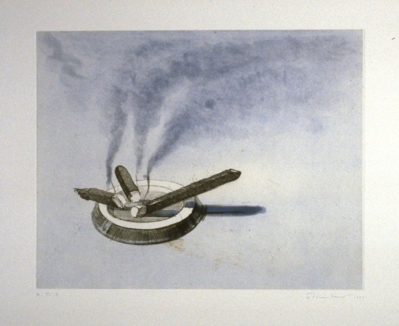 Cigars, pl. 2, from the portfolio, Recent Etchings I