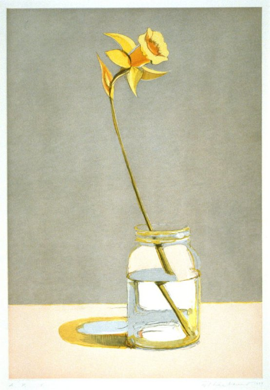 Daffodil, pl. 4, from the portfolio, Recent Etchings II
