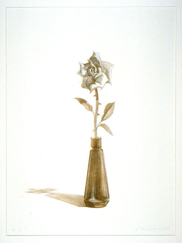 Rose, pl. 1, from the portfolio, Recent Etchings I