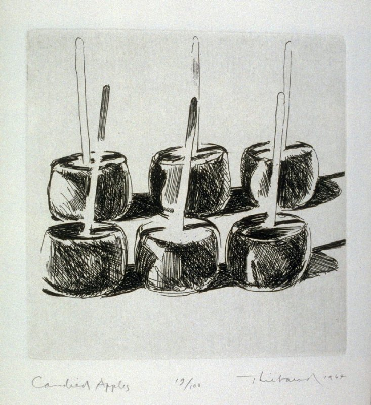 Candied Apples, pl. 12, from the book, Delights