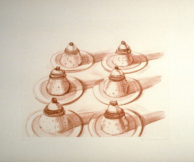 Italian Desserts, pl. 4, from the portfolio, Recent Etchings I