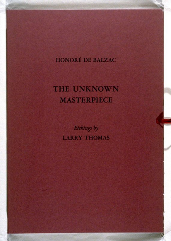The Unknown Masterpiece by Honoré de Balzac, translated into English by Charles Hobson (San Francisco: Pacific Editions, 1993)