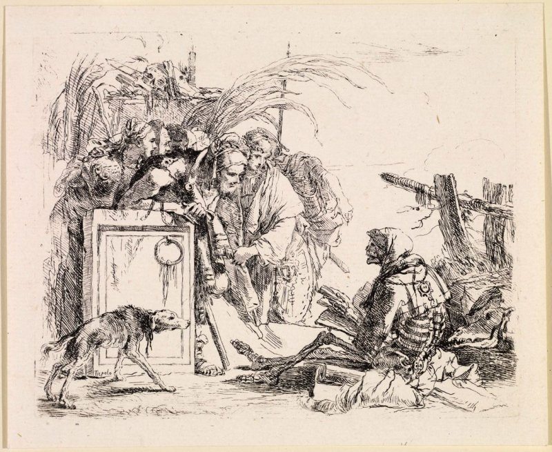 Death Giving an Audience, from the series Vari Capricci