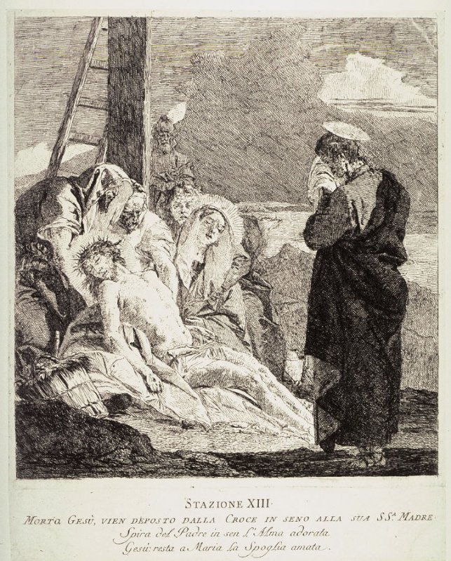 The Deposition, Station 13 from the series Via Crucis (Stations of the Cross)